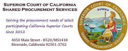 Superior Court of California, Shared Procurement Services